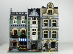 LEGO Modular Building: Police Station and Green Grocer | Flickr - Photo Sharing!
