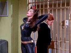 Julie Newmar as Catwoman on Batman TV series Batman Show, Batman Tv Series, Batman 1966, Batman Robin, Batman Art, Catwoman Cosplay, Marvel Cosplay, Batwoman, Batgirl