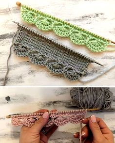 Beautiful Knitting Borders - Tutorial YinYang Kitty Ankle Socks Free Knitting Pattern how to knit a Braided Celtic Knot Scarf. This pattern is a fun one for experienced . Knitting Stiches, Baby Knitting Patterns, Lace Knitting, Stitch Patterns, Knit Crochet, Crochet Patterns, Crochet Style, Crochet Summer, Knit Stitches