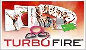 TurboFire is the intense new cardio conditioning program from fitness innovator Chalene Johnson. Shell help you get leaner with exercises that burn up to 9x more fat and calories than regular cardio does. And with more than 20 smoking-hot music remixes, TurboFire will pick you up and push you past your limits. health-and-fitness
