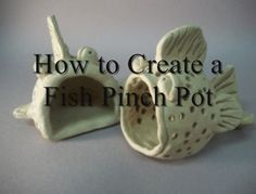 video, many more projects pdf,lessons video click the image or link for more info. Clay Pinch Pots, Ceramic Pinch Pots, Ceramic Clay, Slab Pottery, Ceramic Pottery, Thrown Pottery, Clay Fish, Kids Clay, Ceramic Tableware
