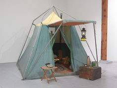 Go Camping, Outdoor Camping, Outdoor Gear, Camping Room, Camping Theme, Camping Stuff, Tent Set Up, Inspired Homes, Open Space Living