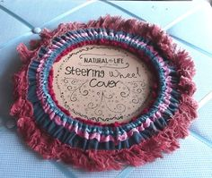 Steering Wheel Cover with Fringe! Ooh! I realllly need this!!