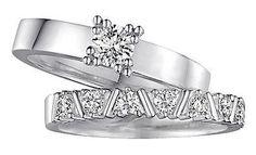 Zwei Ringe, zwei Materialien und eine Leidenschaft: extravaganter Glanz und einen Hauch Glamour! www.christ.de