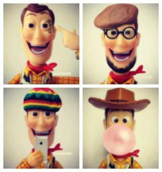 Toy Story cowboy, reggae, iphone, design, film, chicle, fluffy hat, Woody.
