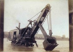 Colorado Prospector Club Picture of a Marion Steam Shovel.