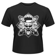 Tee-Shirt Noir Heisenberg Card Breaking Bad