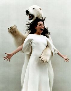 Bjork! She's the Hunter!! :D!!!