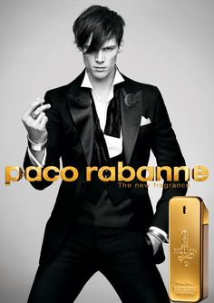 1 million, Paco Rabanne I love the photo here - I just wish it came with out the fragrance and type for pinning it.