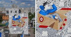 Street Art In A Juvinile Prison By Millo   Bored Panda