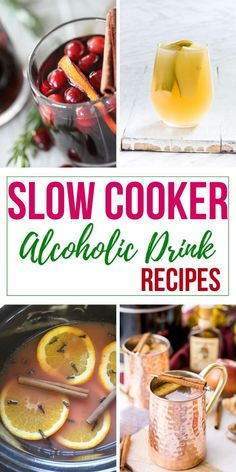 Alcoholic Drinks You Can Make in Your Slow Cooker Drinks Alcohol Recipes, Alcoholic Beverages, Yummy Drinks, Wine Recipes, Spiced Wine, Spiced Pear, Fun Cocktails, Cocktail Recipes, Crockpot Drinks