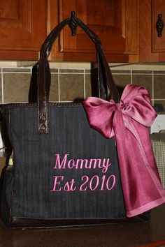 Diaper Bag for a new mother