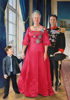 The Danish Royalty Succession - Queen Margrethe II, Crown Prince Frederick & Prince Christian