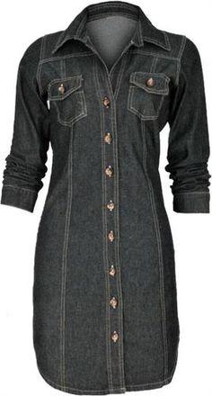 Moldes Roupas: A simplicidade e charme do Vestido chemisier chemisier