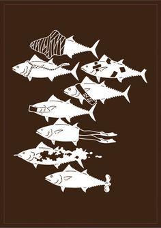 Shigeo Fukuda - Fish