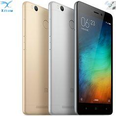">>>Smart Deals forOriginal Xiaomi Redmi 3 PRO 3G RAM 32G ROM Metal Body Fingerprint 4100 mAh Snapdragon 616 Octa Core 5""  FDD LTE Mobile Phone-in Mobile Phones from Phones"