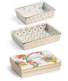 Rosanna : KASHMIR - Nesting Catchall Trays  - S/3 : style # 359525001