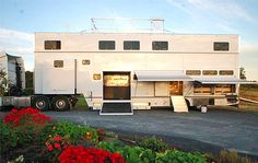 Luxury+Horse+Trailers+with+Up+Stairs   48 ft semi trailer, 12 horse, 2 storey with slide-outs