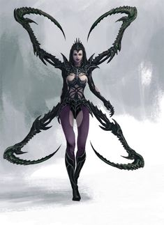Spider Warrior by Manzanedo.deviantart.com on @DeviantArt