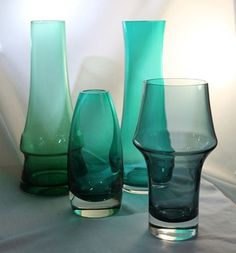 Riihimäki Lasi Oy (& another) Drop Dead Gorgeous, Beautiful, Lassi, Affordable Home Decor, Op Art, Glass Design, The Collector, Fat, Pottery