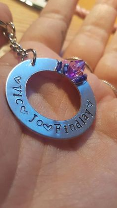 Check out this item in my Etsy shop https://www.etsy.com/uk/listing/545570084/personalised-keychain-with-beads