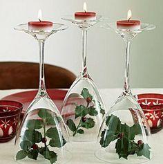 bicchieri porta-candele tea light