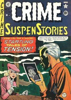 Crime Comics, Ec Comics, Horror Comics, Creepy Comics, Comic Book Artists, Comic Artist, Comic Books, Conan Movie, Adventure Magazine