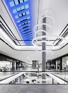 Gerber Shopping Mall, Stuttgart. A project by Ippolito Fleitz Group – Identity Architects.