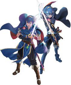 Fire Emblem Fates - Marth and Lucina by Yuka Tsujiyoko