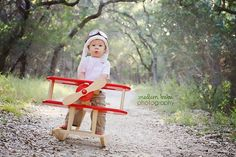 Newborn Photography Prop - Vintage Style Aviator Hat - Photo Prop Will fit newborn to 4 years
