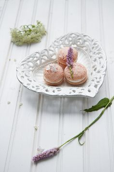 My Cherry Blossom Macaroons! Recreated from Helene Dujardin Recipe Link, Macaroons, Cherry Blossom, A Food, Your Favorite, Foodies, Photo Ideas, Food Photography, Yummy Food