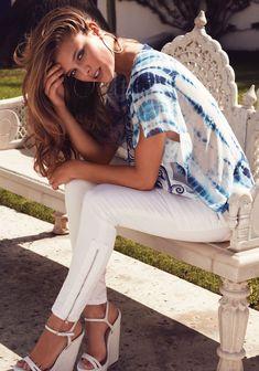 Nina Agdal Models Sexy Summer Styles for Bebe