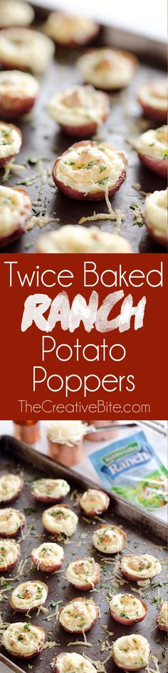 twice baked ranch potato poppers twice baked ranch potato poppers are ...