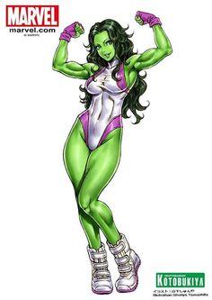 She-Hulk by Shunya Yamashita | 山下しゅんや *