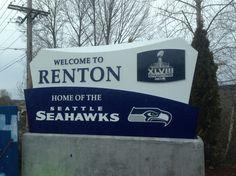 Renton, Washington.  Home of the Seahawks!! #GoHawks #Back2Back #SuperBowlRePete