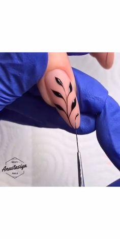 Girls, if you wanna see more nail-art ideas that you can easily apply at home then just visit our website Cute Nails, Pretty Nails, My Nails, Nail Art Videos, Diy Nails Stickers, American Nails, Nailart, Nail Tutorials, Video Tutorials