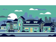 Neighborhood by Matt Anderson #Design Popular #Dribbble #shots