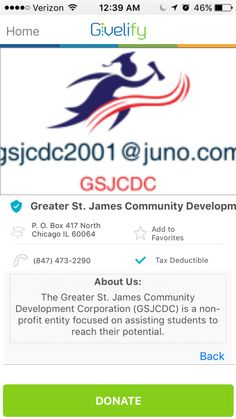 Greater St. James Community Development Corporation in Chicago, Illinois #GivelifyNonprofits