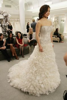 Textured ballgown with lots of sparkle! From SYTTD, Episode 3 Season 11.