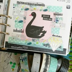 21.05.16 Guten Morgen  #amaryllis775 #filofaxoriginal #filofax #filofaxing #planner #planner #planning #washitape #plannergirl #plannernerd #layout #washi #iloveit by amaryllis775