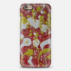 """""""RED & YELLOW"""" phone case. Available for different types of phones."""