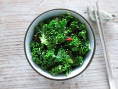 Chili Garlic Sesame Kale