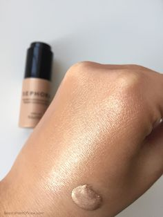 Sephora Radiant Luminizing Drops in Ultra Light - review and swatches #makeup…
