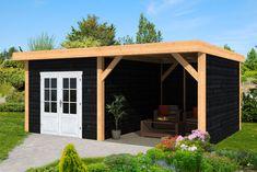 Home Pub, Cozy Backyard, Porch Area, Garden Buildings, Outdoor Living, Outdoor Decor, Pergola Designs, Outdoor Landscaping, Gazebo