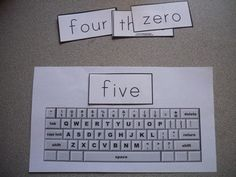 Free printable keyboard