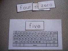 Free printable keyboard