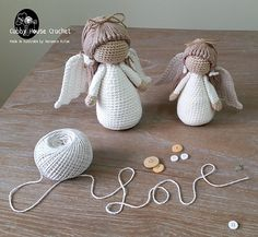 Angel Crochet Pattern 4 PDF 's English, Swedish, Dutch, German, Danish. Cubby House Crochet by Veronica McRae Angel Crochet Pattern 4 PDF 's English Swedish Dutch Crochet Crafts, Crochet Dolls, Crochet Projects, Knit Crochet, Crochet Ornaments, Crochet Snowflakes, Free Crochet, Amigurumi Patterns, Amigurumi Doll