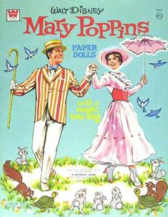 Mary Poppins Paper Doll Book