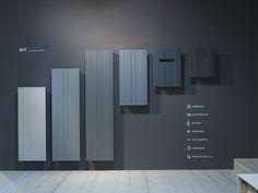 Extruded aluminium radiator / decorative radiator BIT BIT Collection by Antonio Lupi Design®
