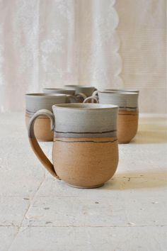 Ceramic mug, one of